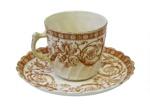 Tea Cup and Saucer; 748