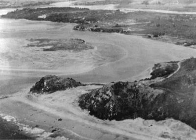 Aerial of Mangawai Heads; 15-49