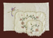 Tray Cloth and 2 Doilies.; 881