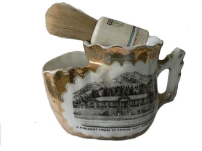 Shaving Mug and Brush; 72