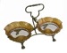 Bowls x 2 + Stand; 15-139