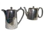 Teapot and Hot Water Pot; 122