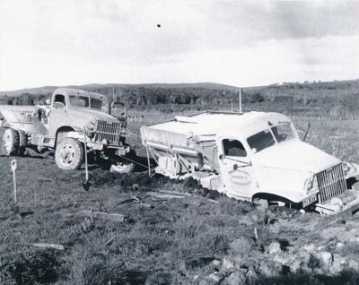 Fertiliser truck bogged down.; 16-212