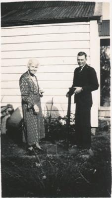 Selina Hastie and Ray Wharfe.; 16-298
