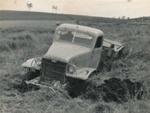 Truck stuck in paddock.; 16-213