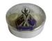 Silver souvenir container with lid: 'RMS Niagara'; 819