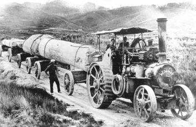 Steam Traction Engine; 16-42