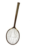 Badminton Racquet and Press; 234