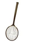 Badminton Racquet and Press; 234