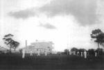 Cricket played behind Mangawai Hotel.; 16-112