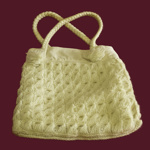 Crocheted Bag; 15-83