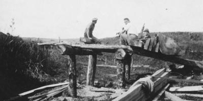 Pit Sawing Timber; 17-74