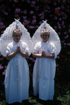 Heather and Ruth Wharfe; 18-62