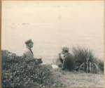 Ada May and Louis Wintle on Fanal Island; 18-40