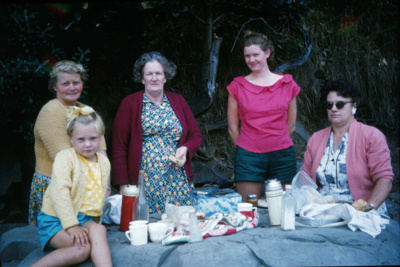 Wharfe Family Picnic with Friends.; 18-92