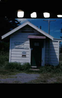 Mangawhai Post Office 1958.; 18-179