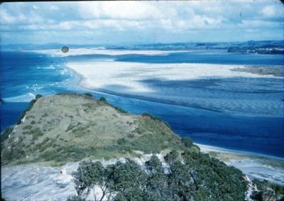 Looking towards Te Arai from Mangawhai Hill.; 18-115