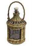 Bottle in Basket; 18-28