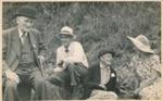 Fred Foote Family at Mangawhai Centennial; 18-203