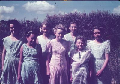 Group of Girls; 18-68