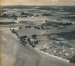 Aerial of Mangawhai Village 1955.; 18-199