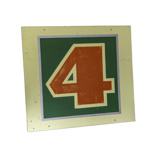 4 Square Sign; 18-97
