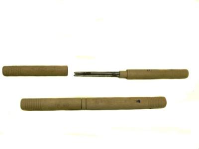 Knitting Needle Holders x2; 112