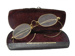 Glasses and Case; 222
