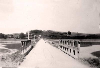 First Causeway at Mangawai Village; 17-146