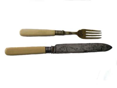 Cutlery x2; 159
