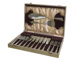 18-61Boxed Set of Fish Knives and Forks