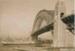 RMS Niagara passing under Sydney Harbour Bridge; 19-117