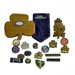 Badges & Hat ; 15-134