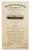 Menu ' RMS Niagara': RETURNED TO KEITH GORDON O/R # 1108; 821
