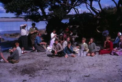 Picnic at Mangawhai Heads; 18-111