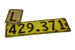Licence Plate; 17-205