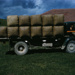 Wharfe Wool on Truck; 18-186