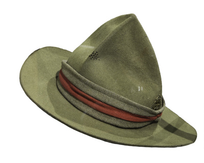 Hat: RETURNED TO BILL LESLIE O/R 1146; 15-17