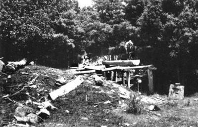 Pit Sawing; 16-49