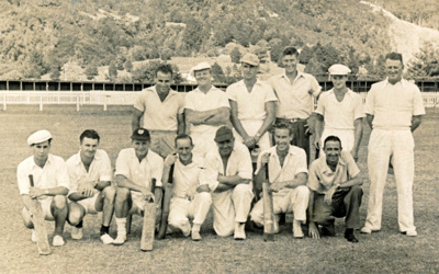 Mangawai Cricket Team.; 17-2