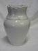 White Porcelain Vase; 260