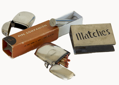 Match Lockets and Pipe Tool.; 620