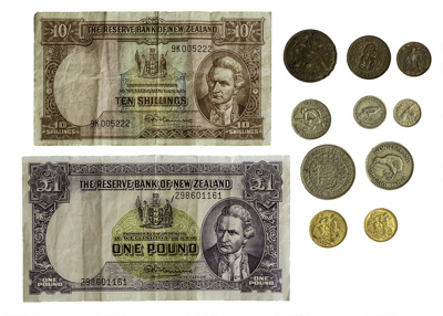 Coinage and Notes; 28