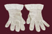 Crocheted Ladies Gloves.; 668