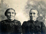 Elizabeth Jane Mooney and her sister.; 16-288