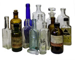 Pharmacy Bottles x 21; 16-4