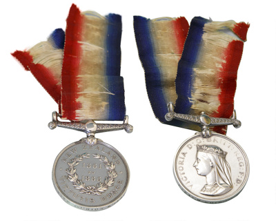 The New Zealand Medal; 613
