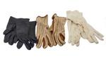 Gloves x 3 pairs; 16-21