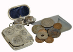 Coins and Coin Holders.; 45
