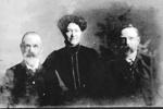 John, Lily & Will Wharfe 1913.; 16-58